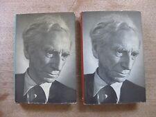 The Autobiography Of Bernard Russell vol. 1 & 2 -1st Uk Hcdj 1967- philosophy