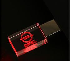 OPEL Car Logo USB 2.0 Flash Drive Stick 8/16/32 GB Red/Blue/Green LED Light