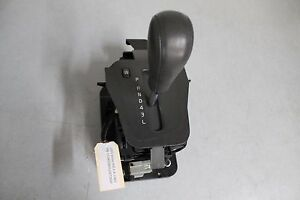 2001-2009 VOLVO S60 2.4L CENTER CONSOLE FLOOR SHIFTER GEAR SELECTOR LEATHER OEM