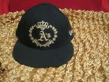 New Era , Oakland A's  Baseball Embroidered  Hat / Cap,  59FIFTY, Size 7 1/2