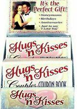 HUGS & KISSES COUPON BOOKS ANNIVERSARY GIFT VALENTINE