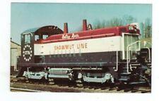 Vintage Railroad Train Post Card Pittsburg Shawmut RR Betsy Ross Bicentennial
