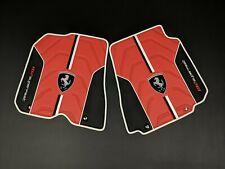 Ferrari 812 Superfast Bespoke Eco Leather Floor Mats Black/Red