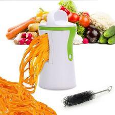 Vegetable Veg Spiral Slicer Cutter Fruit Spiralizer Twister Chopper Peeler Maker