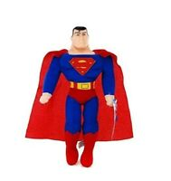 DC Superman Plush Doll Stuffed Figure Kids Gift Toy Original Licensed Super USA