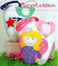 TOOTH FAIRY CUSHIONS - Sewing Craft PATTERN -  Princess Boys Girls