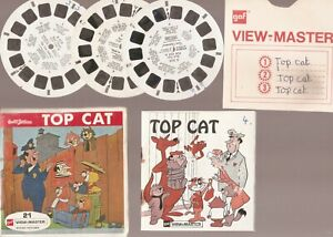 Sawyer's View-Master - Hanna Barbera Top Cat - 3 Reels & Booklet