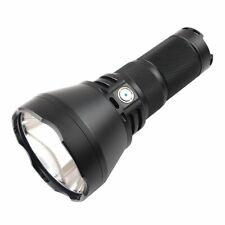 2000 Lumen CREE XHP 35 Hi LED Flashlight Cool White Light Black