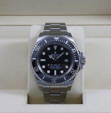 Rolex DeepSea Sea-Dweller 116660 Black Dial Stainless Steel - Box & Papers
