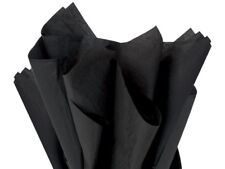 "Black Tissue Paper 960 Sheets 20x30"" Graduations Holiday Proms Gifts Bags Poms"