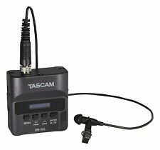 TASCAM Mini Portable Digital Audio Recorder with Lavalier Microphone (DR-10L)