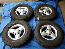 """Nissan Navara 15"""" Alloy Wheels PCD 6x139.7mm 6Jx15 ET25 235/75R15"""