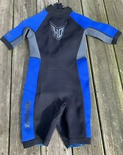 HO Sports X-Factor Aquaseal Wetsuit Shorty One Piece Surf-Dive Junior Size 14