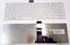 TOSHIBA SATELLITE PRO C850 C855 C850D C870 L850 X870 L855 UK KEYBOARD WHITE