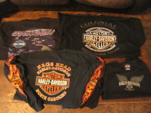 4 Harley Davidson Tee And long Sleeve Mens Womens