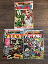 Marvel Feature #7, 8 & 9 Presents The Astonishing Ant-Man Marvel Comic Book Lot