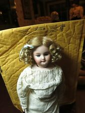 SIZE 13  PAIGE ASHE BLONDE ANTIQUE MODERN DOLL WIG  SYNTHETIC MOHAIR