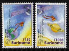 Surinam / Suriname 1999 UPU satellite satellit planet planete planeet MNH