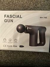 Muscle Massage Gun Professional Fascial Massager Deep Tissue Percussion 4 Heads