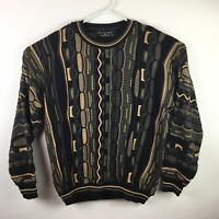 Vintage 90's Protege Collection Coogi Style Biggie Bill Cosby Sweater Size XL