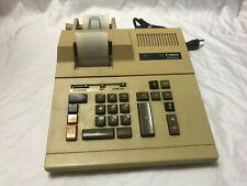 Vintage Larger Canon Adding Machine Calculator #Cp1002, Rare