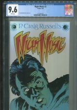 NIGHT MUSIC 2 P. CRAIG RUSSELL COVER STORY AND ART BEST CGC GRADE NM+ 9.6