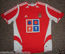 S.L. Benfica / 2005-2006 Home - ADIDAS vintage MENS football Shirt / Jersey. XL