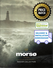 MORSO Stoves 2022 DEFRA Log / Wood Burning / Multifuel Stove Catalogue