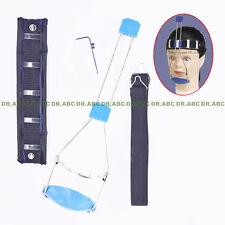 Dental Orthodontic headgear Double pole adjustable Reverse- Pull headgear