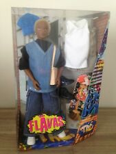 Flavas TRE African American doll with accessories Mattel 2003 NEW