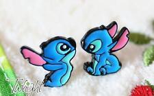 Disney lilo&stitch stitch metal earring ear stud unisex earrings 2PCS anime Stud