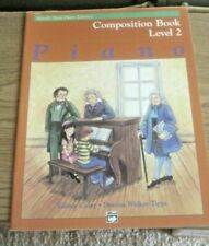 Alfred's Basic Piano Library Composition Book Level 2
