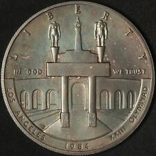 1984 Olympic Commemorative Uncirculated Silver Dollar - Free Shipping USA