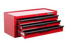 HILKA TOOL CHEST NEW RED METAL 3 DRAWER ADD ON TOOLS STORAGE BOX CABINET UNIT