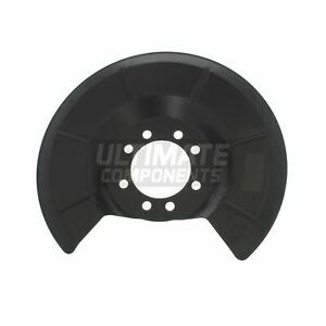 Ford C-Max MPV 4/2007-5/2011 Rear Brake Disc Dust Shield Cover Drivers Side