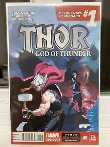Thor God of Thunder #19 1st Appearance Dario Agger Cameo Old Galactus Marvel