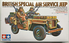 TAMIYA 35033 British Special Air Service JEEP 1/35 Kit Modello Nuovo Con Scatola