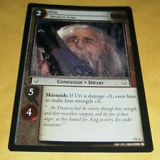 LOTR TCG REFLECTIONS RARE FOIL CARD - 9R11 URI - DWARVEN LORD