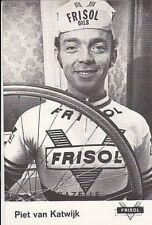 PIET VAN KATWIJK Cyclisme 70s Ciclismo FRISOL Cycling wielrennen cycliste vélo