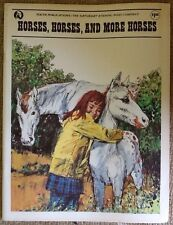 Vintage Youth Publications - Horses, Horses and More Horses 1975