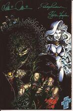 Evil Ernie Revenge #1 Comic Cavalcade Commemorative Edition Signed Pulido Hughes