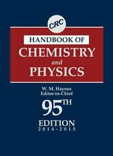 CRC Handbook of Chemistry and Physics, 95th Edition (2014, Hardcover, Revised)