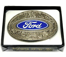 Ford Belt Buckle Car Truck Spec Cast Authentic Officially Licensed Collectible