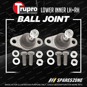 Pair Trupro Lower Outer Ball Joints for Mini Cooper S R53 R66 R50 R52 2000-2014