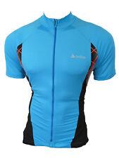 Odlo Men's Bike Jersey Cycling Jersey Blue Size L
