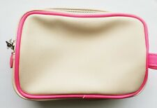 bareMinerals Light Beige with Pink Cosmetic Bag