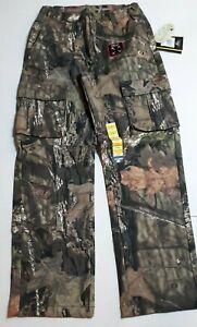 New Mossy Oak Men Mountain Country 5 Pocket Flex Camo Pants Hunting 28/30 Small