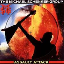 The Michael Schenker Group - Assault Attack (Picture Disc) NEW LP