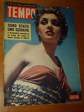 TEMPO 1953/3/=CARLO LEVI=ARMENIA BALDUCCI=RICHARD SORGE=VILLA MIRABELLO VARESE=