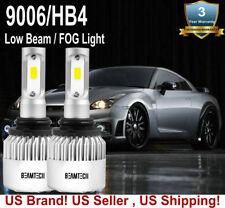 BEAMTECH 9006 HB4 COB LED Headlight Kit Low Beam Fog Light Bulb 72W 8000LM 6500K